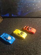 Lot 3/4 TRANSFORMERS G1 MICROMASTERS RACE CAR PATROL Figure Set HASBRO Vintage
