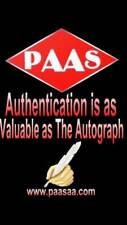 KOBE BRYANT Signed Autograph Authentication On-Line Examination / P.A.A.S.