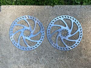 2x Hayes Disc Brake Rotor 203mm