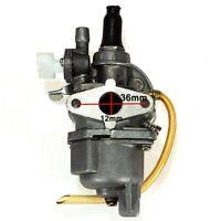 12mm Carburatore Tagliasiepi Per 47cc 49cc Motore Minimoto Miniquad Minicross