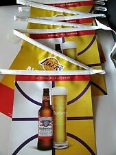 New 22' Budweiser Lakers Double sided Basketball Vinyl Beer String Banner Sign