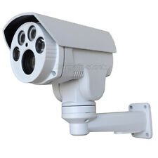 Full HD 1080P 10X Zoom AHD Outdoor Bullet PTZ Camera Auto Zoom 5-50mm IR 60M