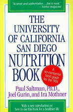 NEW The University of California San Diego Nutrition Book by Paul Saltman