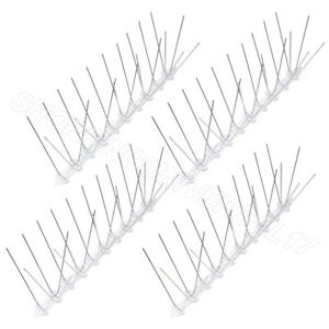 2 METRE PROFESSIONAL DETERRENT PIGEON/SEAGULL ANTI BIRD SPIKES FOR WIDE LEDGES