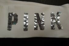 NEW Victoria's Secret PINK Bling Yoga Pants Small Black Bootleg Boot Cut Sequin
