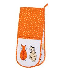 New Cats in Waiting Double Oven Glove by Ulster Weavers