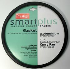 Prestige Pressure Cooker Gasket Smart Plus 5L Aluminium & Curry Pan Comes Carded