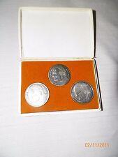3 Joannes Pavlvs Pope John Paul II Religious Christian Coin Medal Vatican set