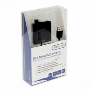 Portable 24 bit 96 KHz USB Audio DAC and Headphone Amplifier work with Android
