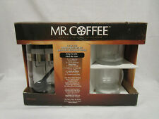 Mr Coffee 1.1 Qt French Press Gift Set with Mugs and scoop