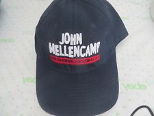 John Mellencamp Ball Cap Navy Sad Clowns & Hillbillies Concert 2017 Tour New