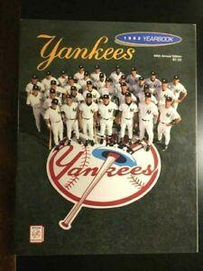 "1993 OFFICIAL NEW YORK YANKEES YEARBOOK DEREK JETER ""ROOKIE"" NM""-FREE SHIPPING"