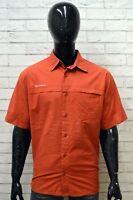 Camicia Uomo QUECHUA Maglia Shirt Man Manica Corta Polo Cotone Casual Taglia XXL
