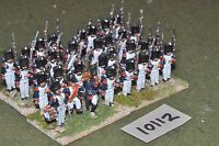 25mm napoleonic / french - 32 infantry figs - inf (10112)