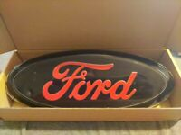 New OEM Front Grille/Rear Trunk Oval Emblem 9 inch Fits Ford F150 F250 F350