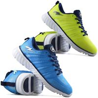 Mens Casual Running Walking Sports Gym Shock Absorbing Lace Trainers Shoes Size