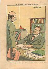 Ministère des Loisirs Bureau du Ministre Cartel des gauches SFIO Paris 1936
