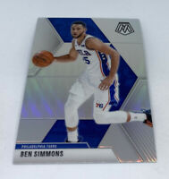 2019-20 PANINI MOSAIC BEN SIMMONS SILVER PRIZM REFRACTOR CARD #149 SIXERS