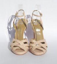 40cdaabfa73 VALENTINO Garavani Lt Pink Snakeskin Leather Open Toe Platform Sandals Pumps  40