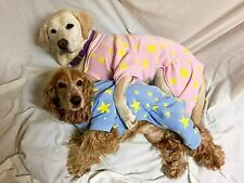 Blue Dog pyjamas 20-50cm small-xxxlarge dogs, pink fleece 4 legs NEW