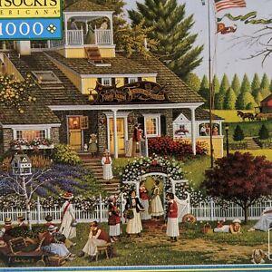 Charles Wysocki's Americana 1000 Love/Club des dames 56.59 x 64.92cm ~ 2003