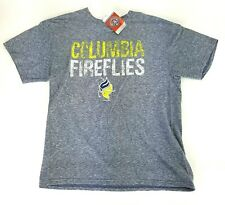 Columbia Fireflies Minor League Baseball Youth Large Graphic Tee Shirt NWT