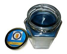 Sapphire Blue 100% Beeswax Jar Candle, 8 oz