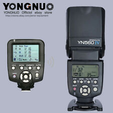 YONGNUO Wireless Flash speedlite YN-560IV + 560TX flash controller for Canon