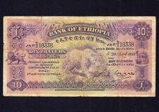 Ethiopia  10  Thalers 1933  P-8
