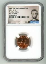 2019 W LINCOLN CENT 1C UNCIRCULATED NGC MS69RD PL FIRST DAY OF ISSUE 4966943-011