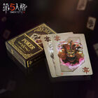 Game Identity V Black Jack Poker Desk Playing Cards Family Party Cosplay Gift