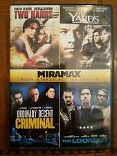 Two Hands, The Yards, Ordinary Decent Criminal, The Lookout (DVD) FAST SHIPPING!