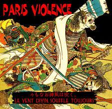 PARIS VIOLENCE Le vent divin CD oi! ltd 500 skin SSS ikazuchi sledgehammer ouka