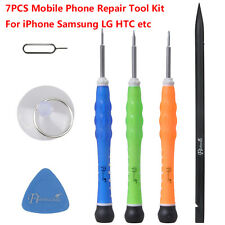 7PCS Mobile Phone Repair Tool Kit Screwdriver For iPhone Samsung LG HTC etc