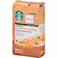 Starbucks Pumpkin Spice Ground Coffee 11 Oz . Limited Edition Free World Ship