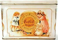 1993 Washburn's Gold Medal Flour Collectible Recipe Tin Bristol Industries