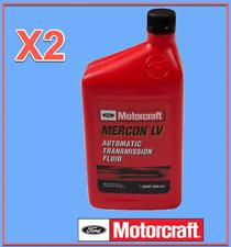 2 Quart Genuine FORD Automatic Transmission Fluid Motorcraft XT10QLVC MERCON LV