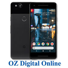 "New Google Pixel 2 5.0"" Android 8 4G 12.2MP 128GB Black Unlocked Phone 1Yr AuWty"