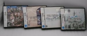 Nintendo DS Final Fantasy Gaiden , Ring of Fate, Echoes Of Time & FF3 4Game Set