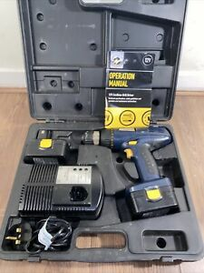 PERFORMANCE POWER PRO CLM 12CHD 12V HAMMER DRILL with case + 2 Batteries + Case