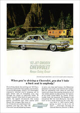 CHEVROLET 63 IMPALA RETRO A3 POSTER PRINT FROM CLASSIC ADVERT 1963