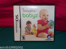 Imagine: Babyz (Nintendo DS, 2007) EUC FREE USA SHIPPING