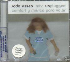 SODA STEREO UNPLUGGED COMFORT Y MUSICA PARA VOLAR CD