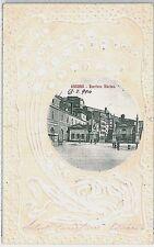 CARTOLINA d'Epoca ANCONA città : BARRIERA MARINA 1904