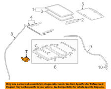 TOYOTA OEM 14-15 Highlander Sunroof Moon Roof-Motor 632600E070