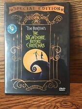 Tim Burtons A Nightmare Before Christmas (DVD) Disc NM Special Edition