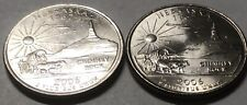 2006 P and D 2 Coin Nebraska Statehood Washington Quarters Set Great Condition
