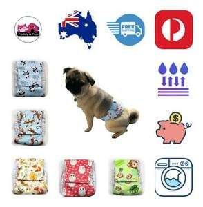 Male Dog Belly Bands Puppy Sanitary Training Diapers Cat Nappy 5 sizes patterns