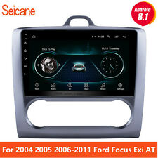 For 2004-2011 Ford Focus Exi AT 9'' Android 8.1 GPS Naviga Car Radio bluetooth