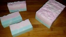 COTTON CANDY--Cottage Farms Shea Butter Handmade Soap 3 Pound (48 Ounces) Loaf
